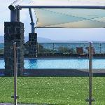 Pool, with view to ocean