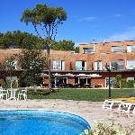 Blau Mar Hotel visto desde el jardin