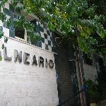 Entrada Balneario y Consultorio Médico