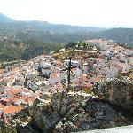 Vista de Fuencaliente desde la Cruz