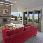 Fire place and window seat