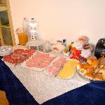 Breakfast spread, fresh and VERY tasty