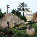 Jesus' tomb.