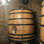Wooded barrel