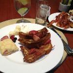 Breakfast at Café Fleuri (from the buffet)