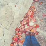 The floor outside