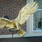 Close Up of Eagle Over Entrance