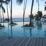 The main pool w/ocean view