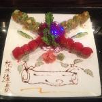 Fancy Kiwi Roll & Red Peal Roll