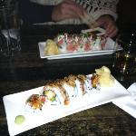 Sushi from the sushi bar