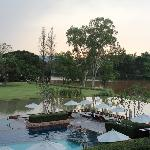 Infinity Pool Overlooking the River
