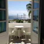 Blick aus dem Hotelzimmer (poolside deluxe)