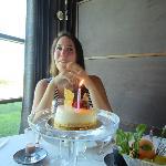 Surprise birthday cake!