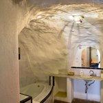 baño cueva