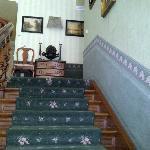 Treppenaufgang im Hotel