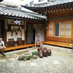 Take rest in the Hanok Eugene's Guesthouse