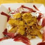 Pasta with Porcini Mushrooms and Culatello