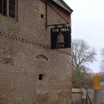 """The """"Bell"""" pub, goodness knows how the sign has survived from treasure hunters"""