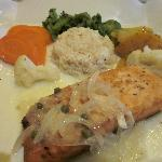 Chilean Salmon with Vegetables