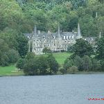 scottish manner house in the Trossachs