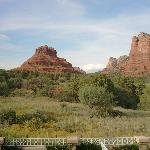 View of Bell Rock from Room