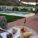 Appetizers at 5 By Pool