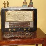 An old style radio