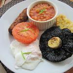 Full Vegetarian English Breakfast