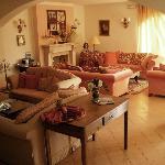 La reception-soggiorno