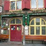 The entrance of beer special cafe De Paas