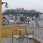 Aussicht auf Akropolis