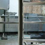 room 207 - view of kitchen extractor unit