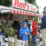 Red's is great - even in the rain