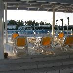 Hotel's main pool