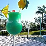 sip on a signiture coctail in the openness of our scenic deck