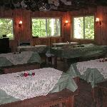 Fort - Dining area for your meeting or party
