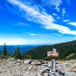 At the top of Mt. Elijah