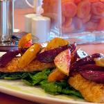 Local and sustainable seafood dishes