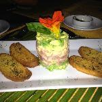 Tuna tartar with avocado!