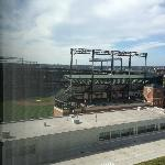 View of Camden Yards from Hotel Room