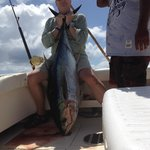 100lb Yellowfin, caught with Renegade Mike in Cabo San Lucas