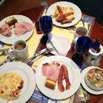 desayuno buffet espectacular
