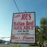 Little Joe's Italian Beef