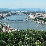 Panorama di Budapest dalla Citadella
