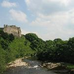 Castle over the River Swale