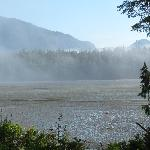 View of the inlet in the morning