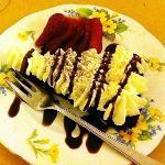 torta tartufata con la panna..