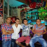 Great team - Hakan, Gokan, Caner, Burhan