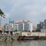 Vista desde el rio