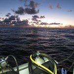 On the dive boat M/V Fling.